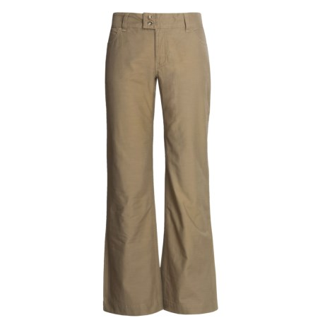 Stetson Brushed Slick Twill Pants (For Women)