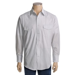 Roper Tone-on-Tone Shirt - Snap Front, Long Sleeve (For Men)