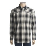 Stetson Ombre Plaid Shirt - Flannel, Long Sleeve (For Men)