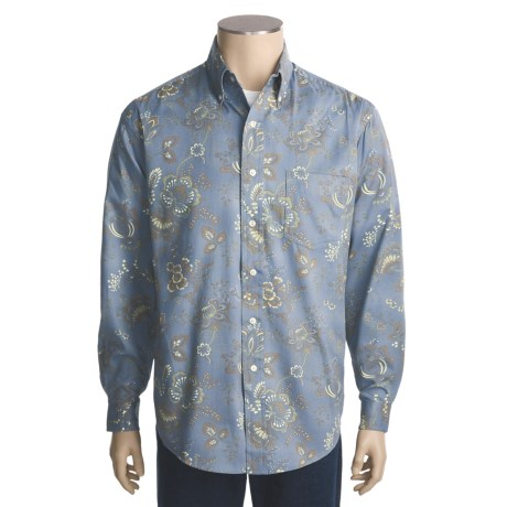 Stetson Arbor Print Shirt - Long Sleeve (For Men)
