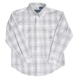 Roper Amarillo Cotton Shirt - Long Sleeve (For Boys)