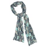 Stetson Grassland Poppy Scarf - Cotton (For Women)