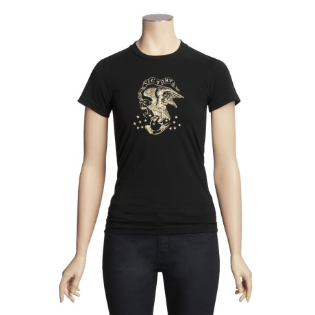 Stetson Cotton T-Shirt - Short Sleeve (For Women)