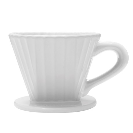 Chantal Lotus Ceramic Pour-Over Coffee Dripper