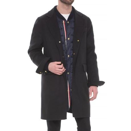 Moncler Gamme Bleu Jacket with Inner Down Jacket - Wool (For Men)