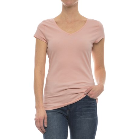 Specially made Stretch Cotton Shirt - Short Sleeve (For Women)