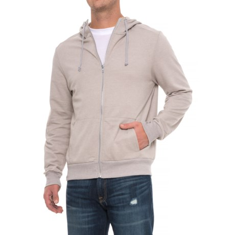 Alternative Apparel Eco-Mock Twist Hoodie - Zip Front (For Men)