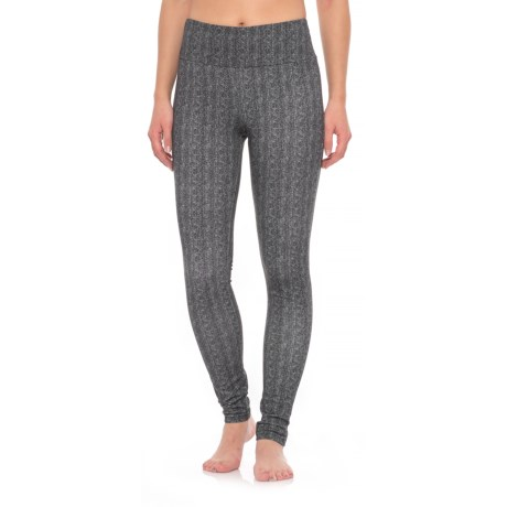 The Girls Herringbone Tummy Control Leggings (For Women)