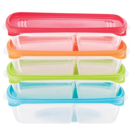 Oggi OGGI Sandwich and Snack Food Storage Box Set - BPA-Free, 4-Piece