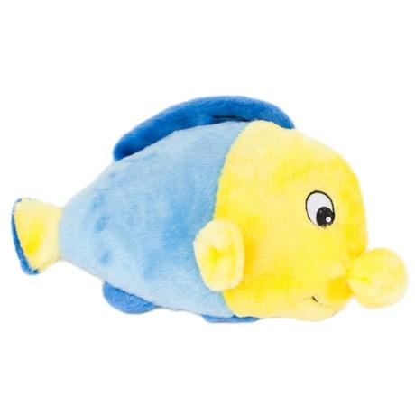 ZippyPaws Grunterz Finn the Fish Squeaker Dog Toy