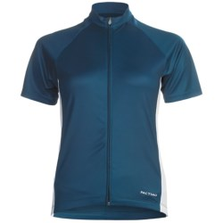 Pactimo Ascent Cycling Jersey - Full Zip, Short Sleeve (For Women)