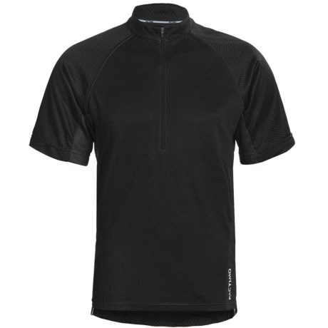Pactimo Carbondale MTB Jersey - Zip Neck, Short Sleeve (For Men)