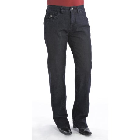 Euro Tummy Control Jeans - Bootcut (For Women)