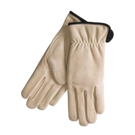 Cire by Grandoe Weekend Gloves - Deerskin Suede (For Women)