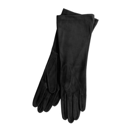Cire by Grandoe Essence Suede Gloves - Silk Lining (For Women)