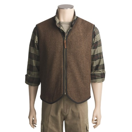 Woolrich Chilkoot Vest - Wool, Sherpa Lining (For Men)