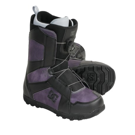 DC Shoes Scout Snowboard Boots - BOA® Lacing (For Men)