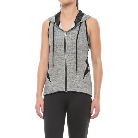 X by Gottex Loop Terry Vest - Zip Front (For Women)