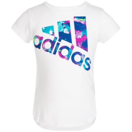adidas All Star T-Shirt - Cotton Blend, Short Sleeve (For Little Girls)