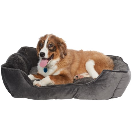 Arlee Everly Pinsonic Lounger Hyde Dog Bed - 33x25""
