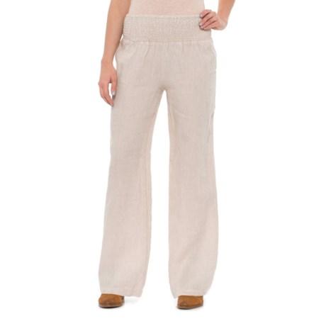 Rachel Ashwell Cross-Dye Linen Pants (For Women)