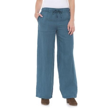 Artisan NY Pull-On Linen Pants (For Women)
