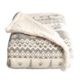 """Arlee Vintage Paws Sherpa Pet Blanket - 50x60"""""""
