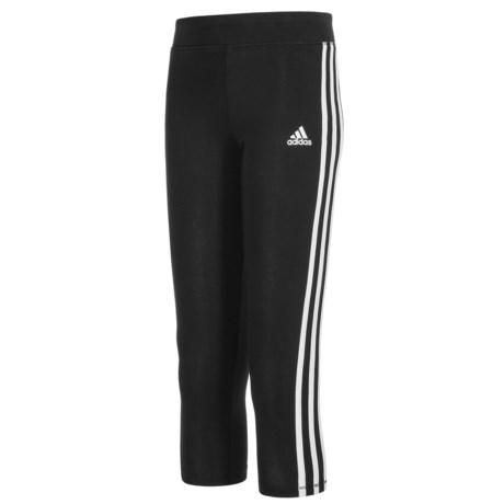 adidas 7/8-Length Leggings (For Big Girls)