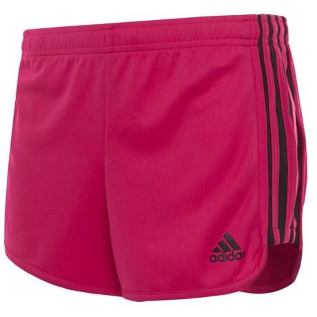 adidas Around the Block Mesh Shorts (For Big Girls)