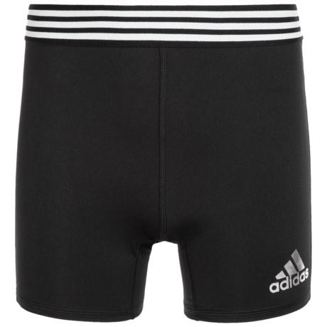 adidas Tight Athletic Shorts (For Big Girls)