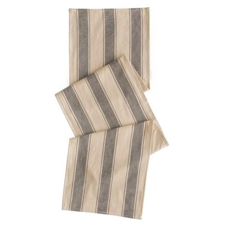 "THRO Douver Stripe Table Runner - 16x72"""