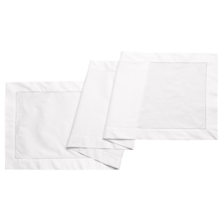 THRO Dexter Hemstitch Table Runner - 16x72""