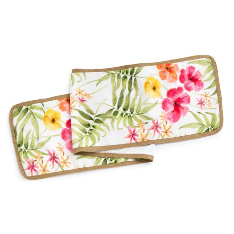 THRO Alex Watercolor Floral Table Runner - 14x72""