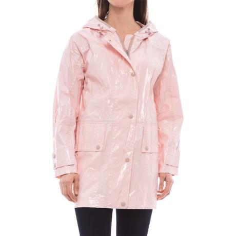 Moncler Navet Hooded Rain Coat (For Women)