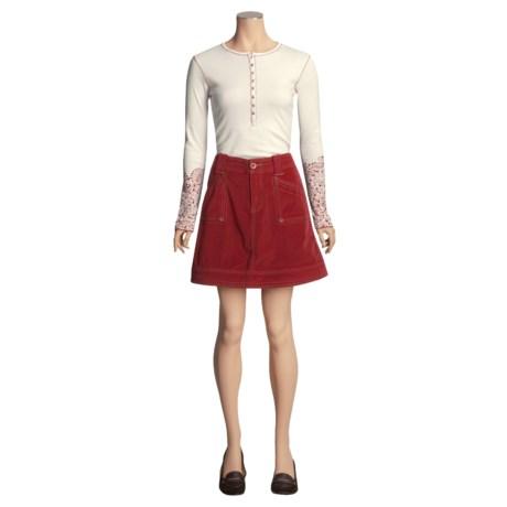 Aventura Clothing Lennox Skirt - Stretch Organic Cotton (For Women)