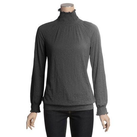 Aventura Clothing Kerrick Burnout Turtleneck (For Women)