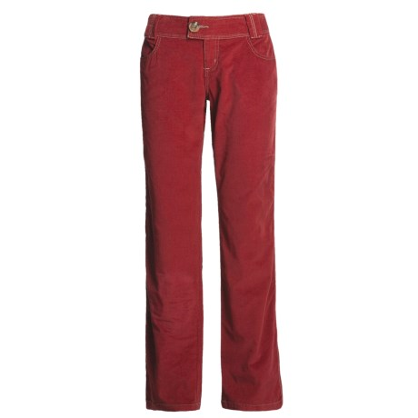 Aventura Clothing Lennox Corduroy Pants - Stretch Organic Cotton (For Women)