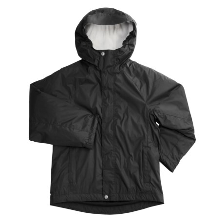 White Sierra Nose Slide Jacket (For Girls)