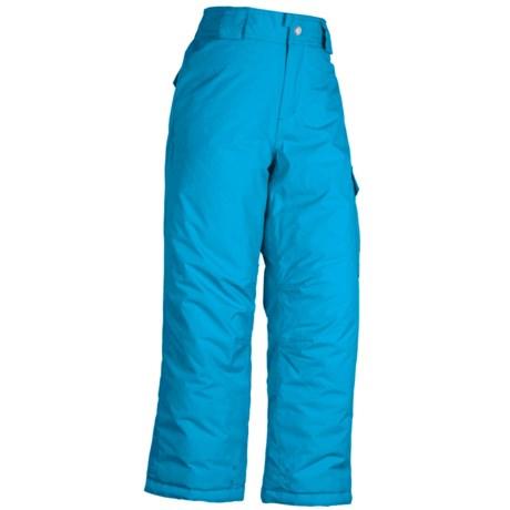 White Sierra Cruiser Snow Pants - Insulated (For Girls)