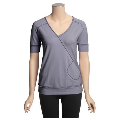 Aventura Clothing Zen Wrap Shirt - Short Sleeve (For Women)