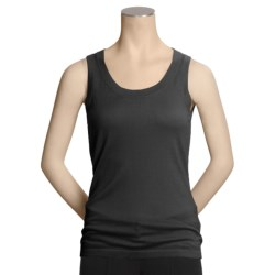 Kinross Worsted Cashmere Tank Top - Scoop Neck (For Women)