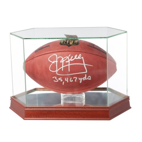 "Steiner Sports Jim Kelly Signed NFL® Authentic Game Ball - ""35,467 yds."""