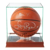 Steiner Sports Larry Bird and Magic Johnson Dual-Signed Basketball