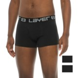 Layer 8 Comfort Stretch Trunks - 3-Pack (For Men)