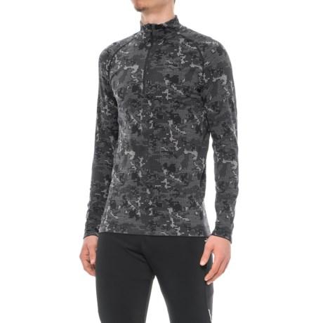 Saucony Seamless Sportop Shirt - Zip Neck, Long Sleeve (For Men)