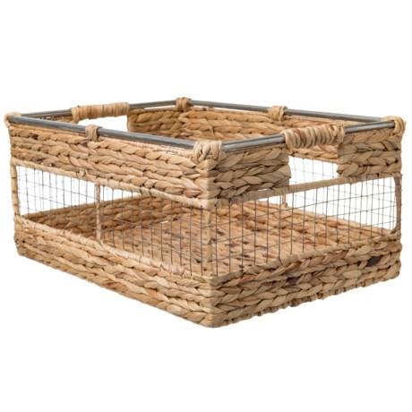 "UMA X-Large Hyacinth Basket - 20"""
