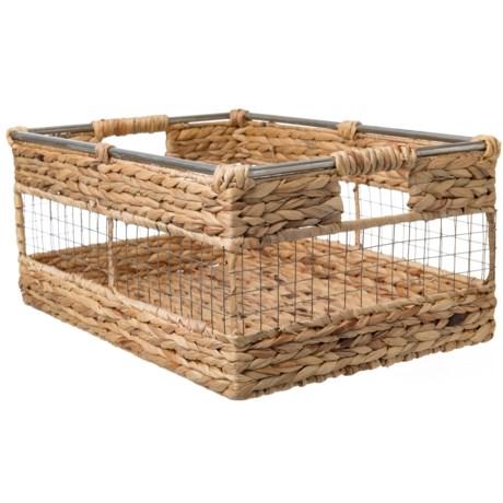 """UMA Large Hyacinth Basket - 17"""""""