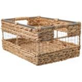 """UMA Medium Hyacinth Basket - 16"""""""