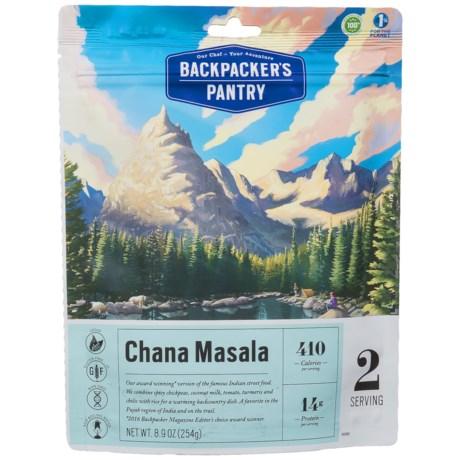 Backpacker's Pantry Chana Masala - 2 Servings