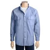Woolrich Explorer Solid Shirt - Cotton, Long Sleeve (For Men)